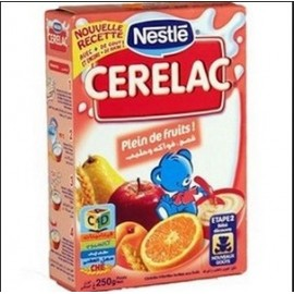 Cerelac Blé Fruits et Lait (400g)