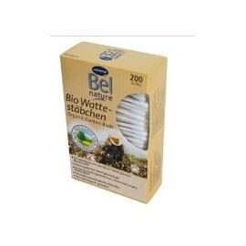 Bel Nature 200 Bâtonnets Cotton Organique Bio 100%