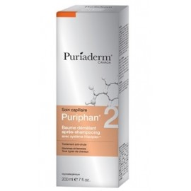 Puriaderm Puriphan Baume Démêlant Apres Shampoing Hommes - Femmes (200ml)