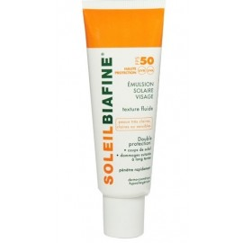 Biafine Emulsion Solaire Visage Spf 50+ (50 Ml)