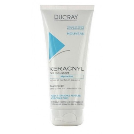 Ducray Keracnyl Gel Moussant (200ml)