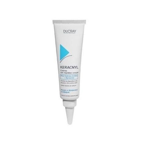 Ducray Keracnyl Crème Soin Régulateur Complet (30ml)