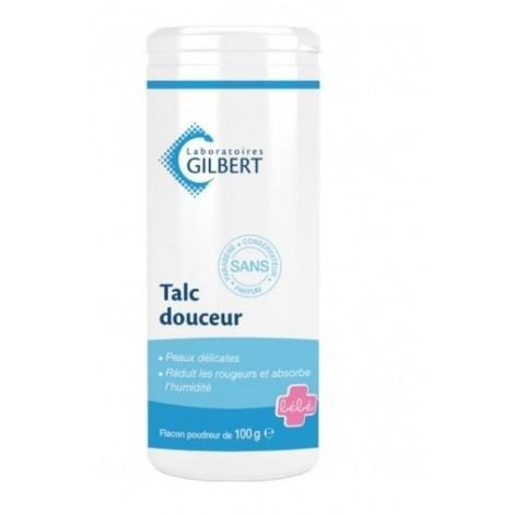 Gilbert Talc Douceur Flacon Poudreux (100g)