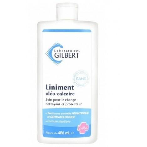 Gilbert Liniment Oléo-Calcaire Stabilisé (480 Ml)