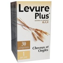 Levure Plus Cheveux et Ongles (30 comprimés)