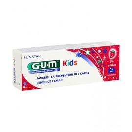 Gum Dentifrice kids au fraise