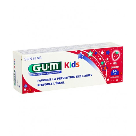 Gum Dentifrice Junior + Brosse à Dents Junior 7 à 9 ans (Trousse Offerte)