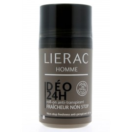 Lierac Homme Deo 24h Roll-on Anti-Transpirant Fraîcheur Non-stop
