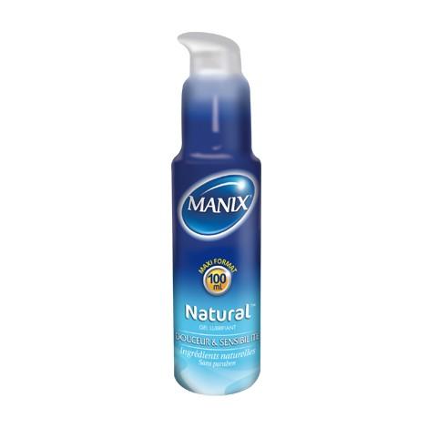 Manix Gel Lubrifiant Naturel Douceur et Sensibilié (100ml)