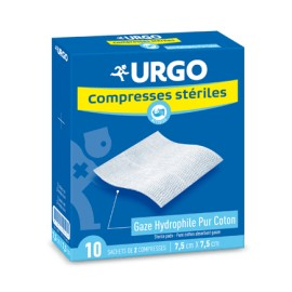 Urgo Compresses Stériles 40*40 (10 compresses)