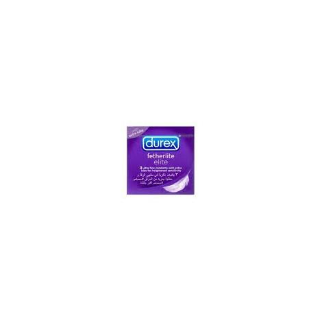 Durex boite de 3 préservatifs Fetherlite Elite