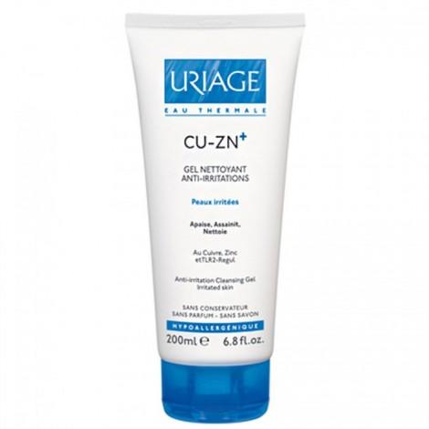 Uriage CU-ZN Gel Nettoyant Anti-Irritations 200ml