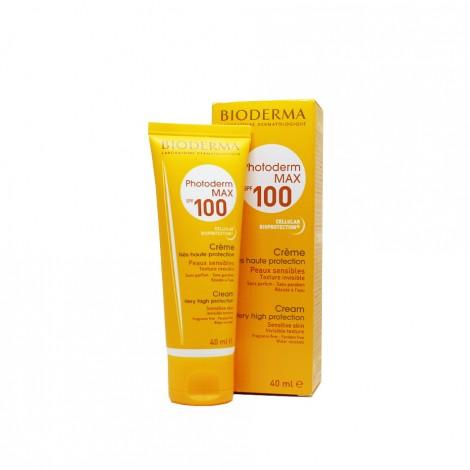 Bioderma Photoderm Max Spf100 Crème Très Haute Protection Invisible (40 Ml)
