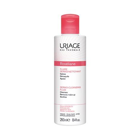Uriage Roséliane Fluide dérmo-Nettoyant 250 ml