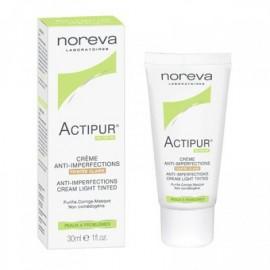 Noréva Actipur Crème Matifiante Anti-imperfections Teintée Claire (30 ml)