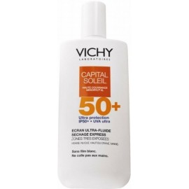 Vichy idéal soleil fluide lacté anti-sable spf 50+ (40 ml)