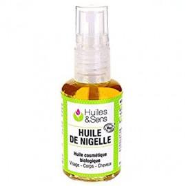 Flore et Sens Huile Végétale de Nigelle (100 ml)