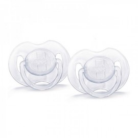 Avent 2 Sucette ana trans silic 0-6 mois