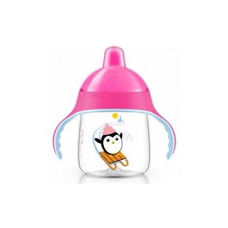 Avent Tasse Pingouin Avec Anses Anti-Derapante (340 ml) 18 mois+