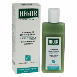 Hégor Shampoing Sébo-Régulateur Argile Douce 150 ml