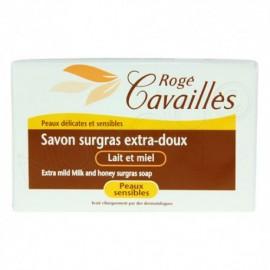 Rogé Cavaillès Savon parfumé lait et miel 250g