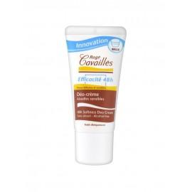 Rogé Cavaillès Déo-Crème Efficacité 48h Aisselles Sensibles Bille 50 ml