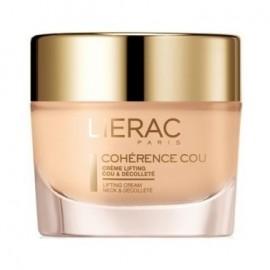 Lierac Coherence Cou Anti-Age Fermete (50ml) Crème Lifting Cou Et Décolleté
