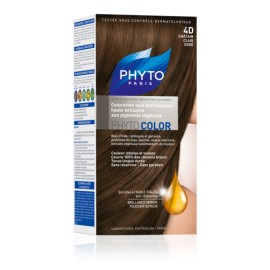 Phyto Color Coloration 4D Chatain Clair Doré