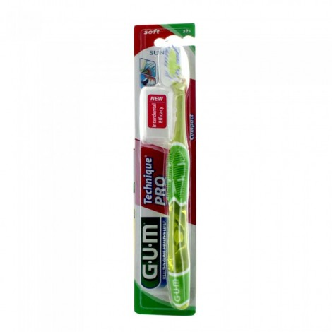 Gum Brosse à dents Technique Pro Soft 525 Souple