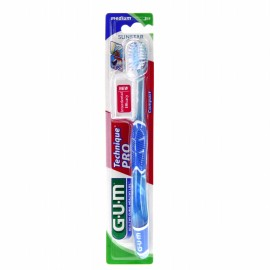 Gum Brosse à Dents Technique Pro Medium réf 528