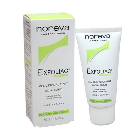 Noreva Exfoliac Gel Désincrustant 50 ml