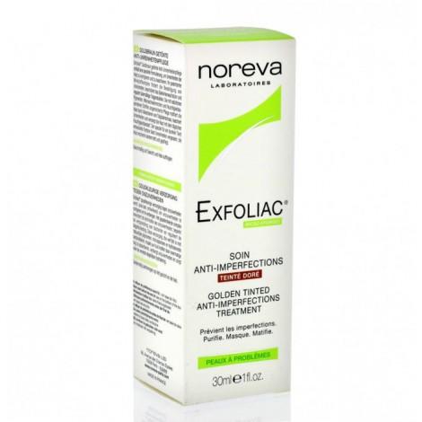 Noréva Exfoliac Soin anti-imperfections Teinté Doré