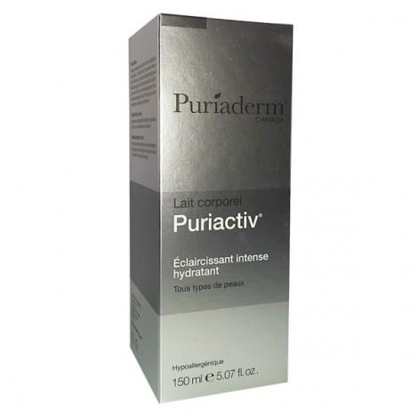Puriaderm Puriactiv lait Corporel éclaircissant Intense Hydratant 150 ml