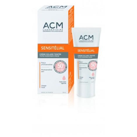 Acm Sensitelial Ecran Mineral Teinté spf 50+40ml