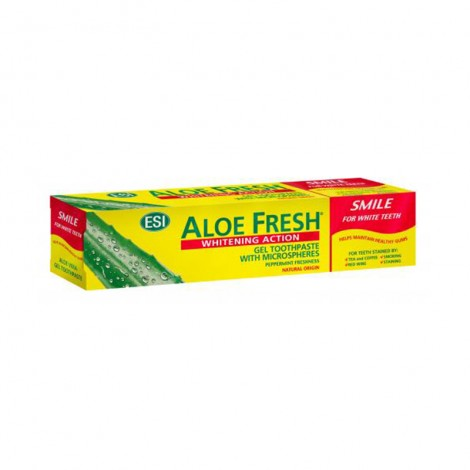 Aloe Fresh Dentifrice Smile Dents Blanches 100 ml