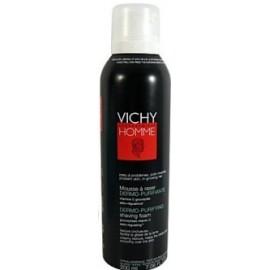 Vichy Homme Mousse à Raser Dermo-Purifiante (200Ml)