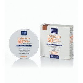 Isis pharma Uveblock 50+ Tinted Compact/ Medium Teinte SPF 50+