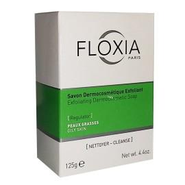 Floxia Savon Dermocosmétique Exfoliant Eclaircissant (125g)
