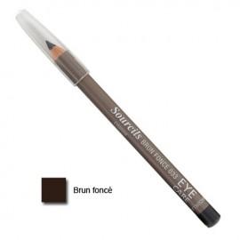 Eye Care Crayon à sourcils Brun Foncé