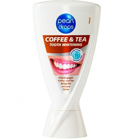 Pearl drops Coffee & Tea soin blanchissant pour les dents 50 ml