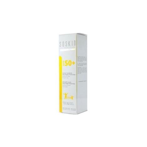 Soskin crème fondante très haute protection visage et corps Spf50
