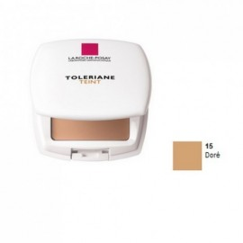 La Roche Posay Tolériane Teint Compact Crème n°15 Doré -Peaux Sèches 9 g