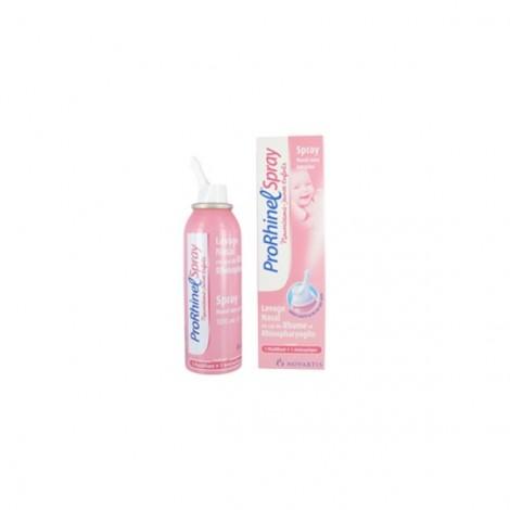 Prorhinel Spray lavage Nasal en cas de Rhume et rhinopharyngite 100 ml