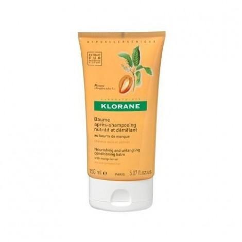 Klorane Baume après Shampoing Beurre de Mangue 150 ml