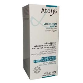 Lysaskin Atolys gel Nettoyant Surgras (200 ml)