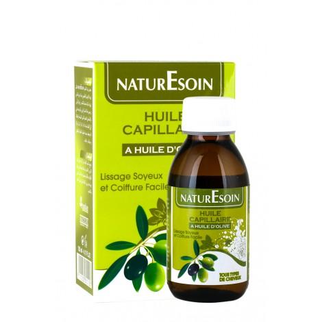 Naturesoin huile Capillaire Huile D'olive -Tous types de cheveux 125 ml