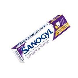Sanogyl Dentifrice Soin Essentiel Fraicheur 75ml Aux Huiles Essentielles de Menthe et Eucalyptus