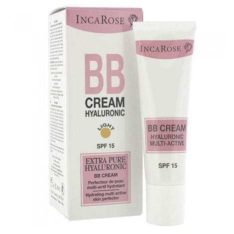 Incarose BB Crème Hyaluronic Spf 15 Light TB 30ml