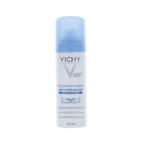 Vichy Deodorant minéral 48h mgo 125 ml