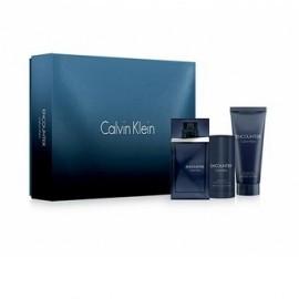 Coffret Calvin Klein Encounter :Eau de toilette homme 100ml + Déodorant Stick + Baume Après Rasage